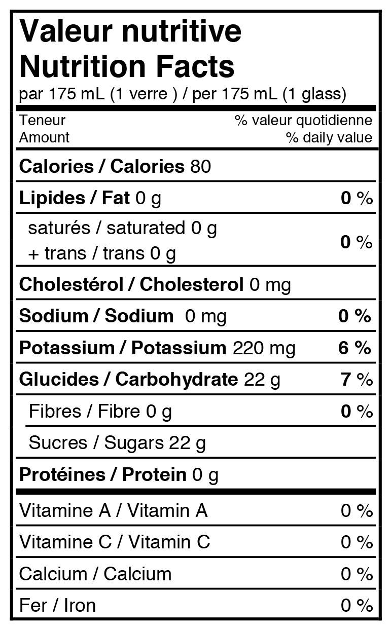 fiche-nutritive-jus-de-pomme-pétillant-biologique