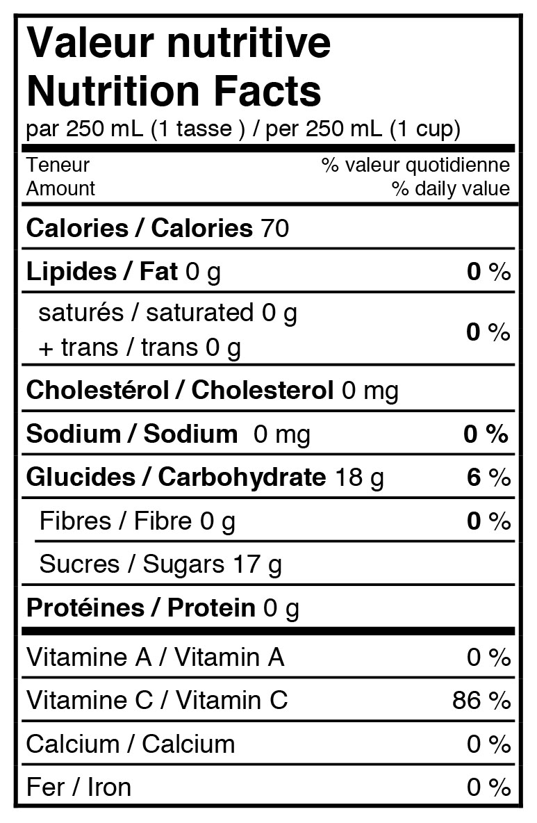 fiche-nutritive-jus-orange-sanguine-pétillant