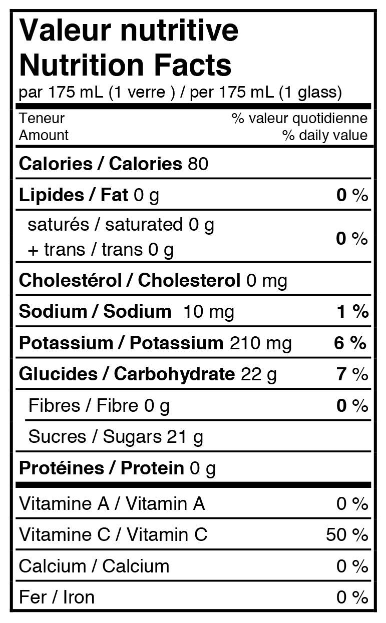 fiche-nutritive-jus-de-pomme-poire-et-canneberge-pétillant-biologique