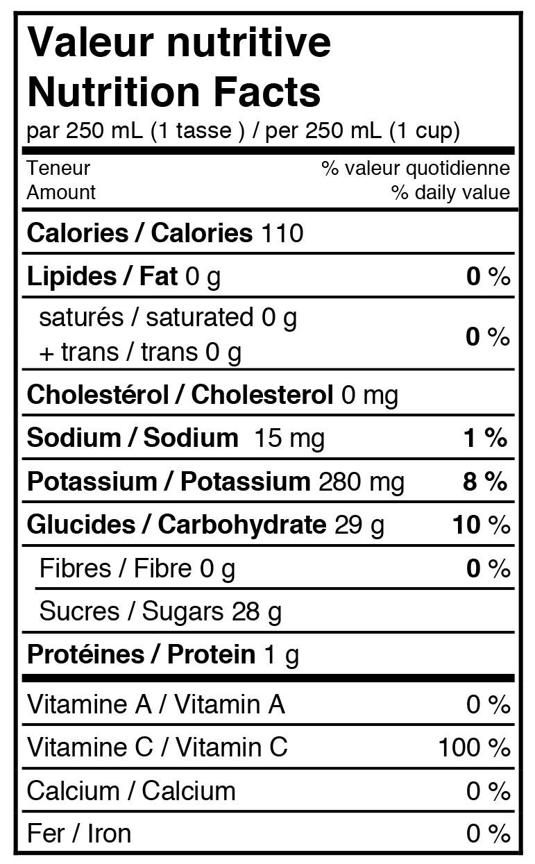 informations-nutritives-pomme-canneberge-biologique-petillant
