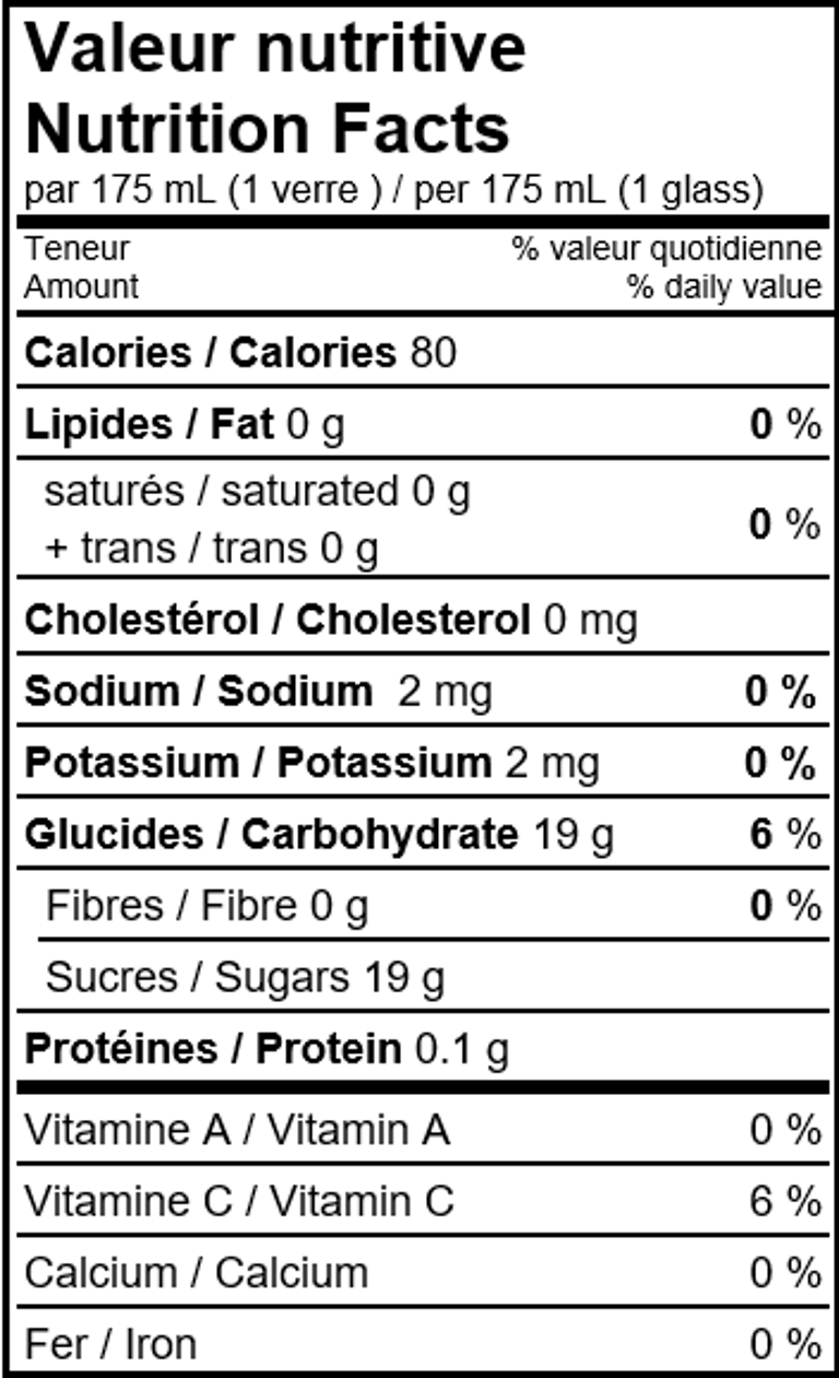 information-nutritive-limonade-clementine-juspetillant
